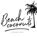 Boutique point de vente de l'atelier Etienne bois : Beach Coconuts, Lacanau
