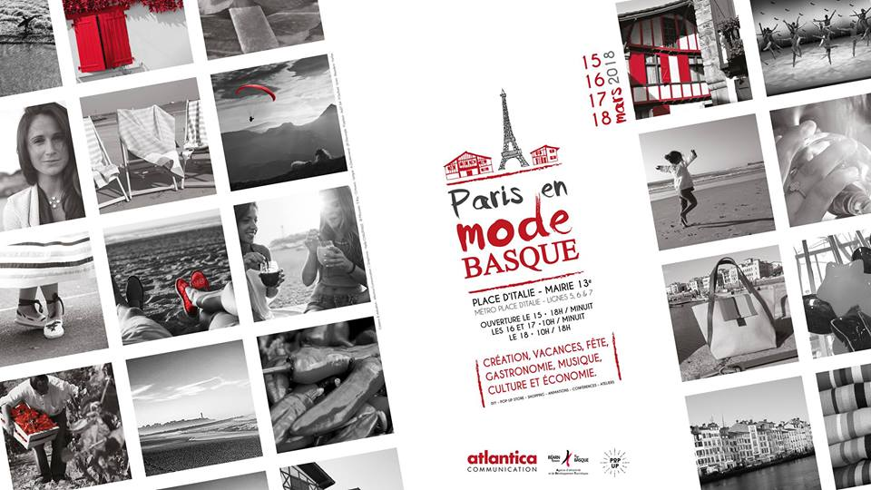 Paris en Mode Basque 2018 - invitation